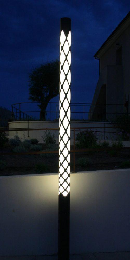 Colonne lumineuse Kea